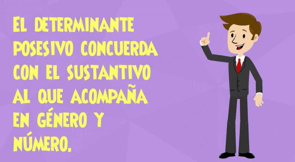 ejercicios de determinantes en español para primaria