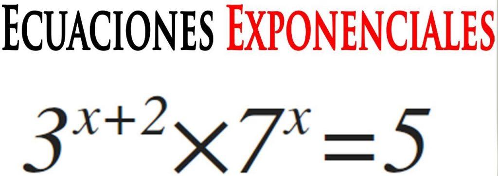ejercicios de ecuaciones exponenciales basicas