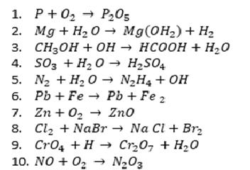 ejercicios de equilibrio quimico