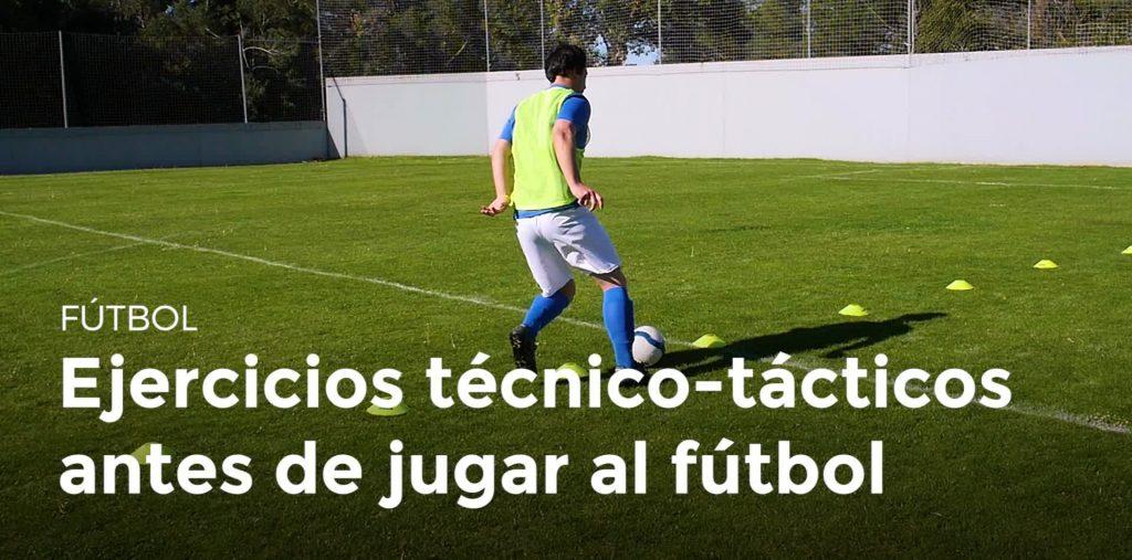 ejercicios de fútbol entrenamientos