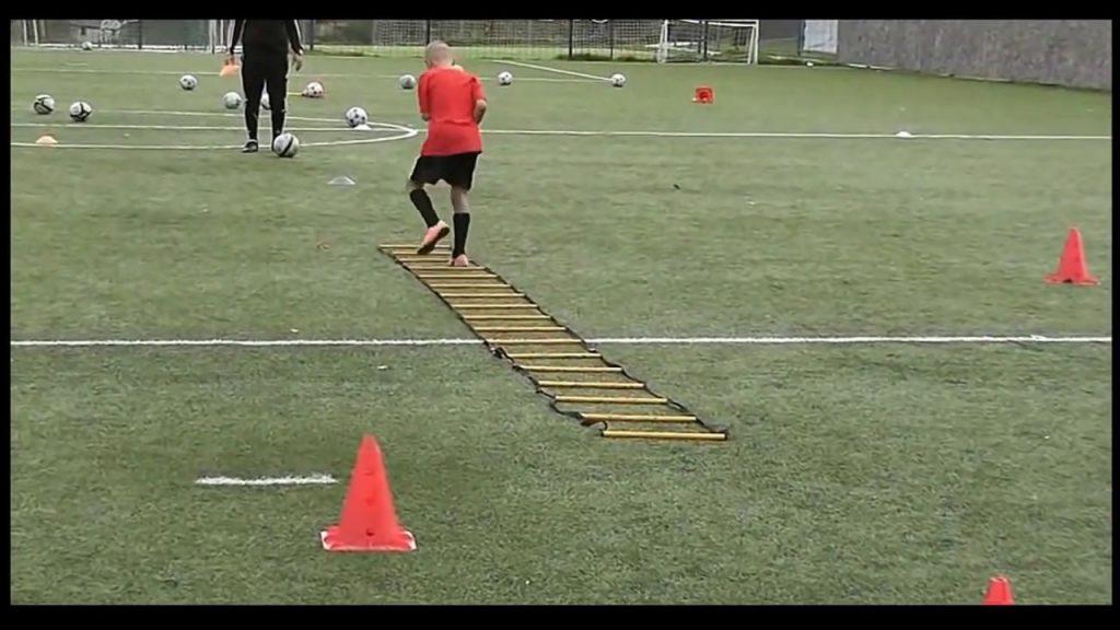 ejercicios de agilidad futbol