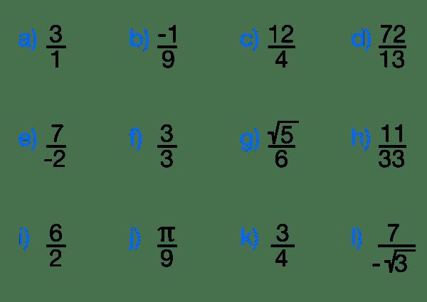 ejercicios d fracciones
