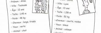 Ejercicios de francés