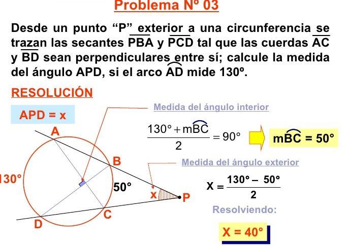 como hacer ejercicios de geometria ejemplos
