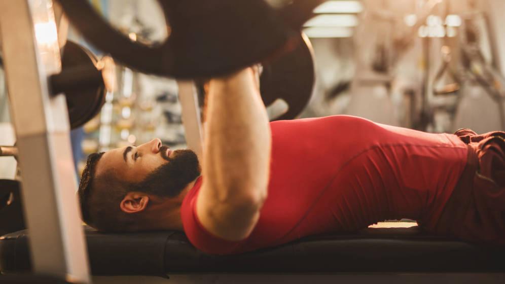 ejercicios de gimnasio barra
