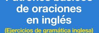 Ejercicios de gramática en inglés