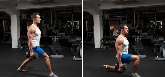 ejercicios de gym de pierna