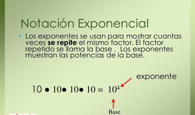 ejercicios en notación científica