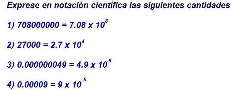ejercicios de notacion cientifica hechos
