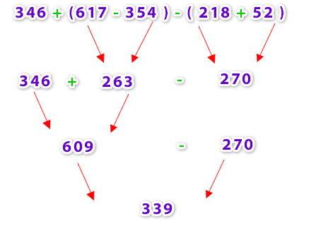 operaciones aritmeticas combinadas ejercicios