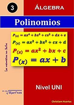 Libro ejercicios de polinomios Amazon 1