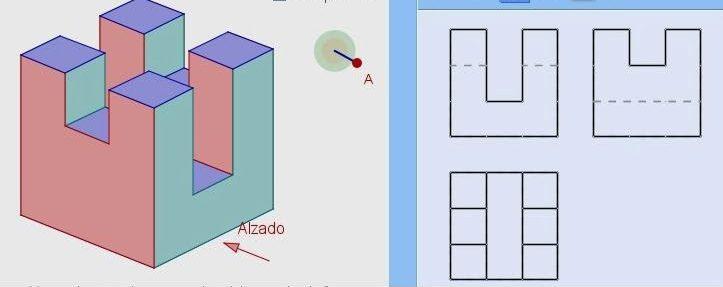 ejercicios de vistas e isometricos