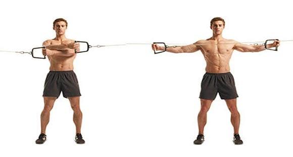 ejercicios manguito rotador banda elastica
