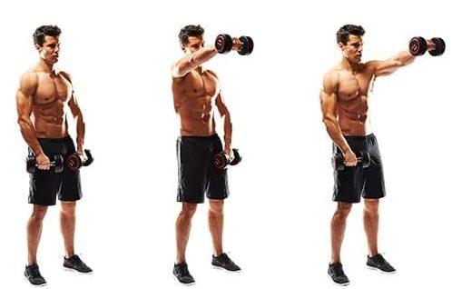 ejercicio de flexibilidad deltoides