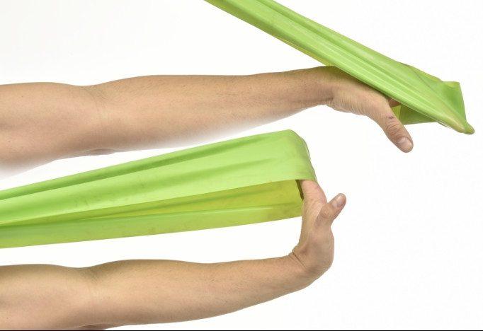 ejercicios para epicondilitis gomas