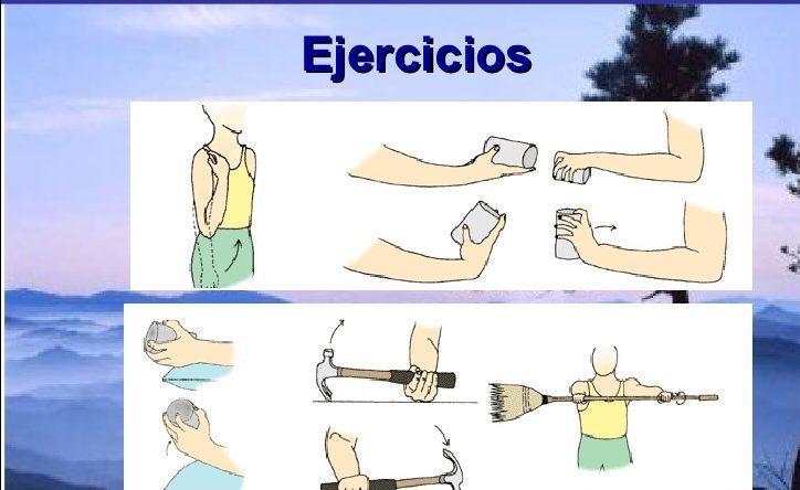ejercicios para problemas de epicondilitis