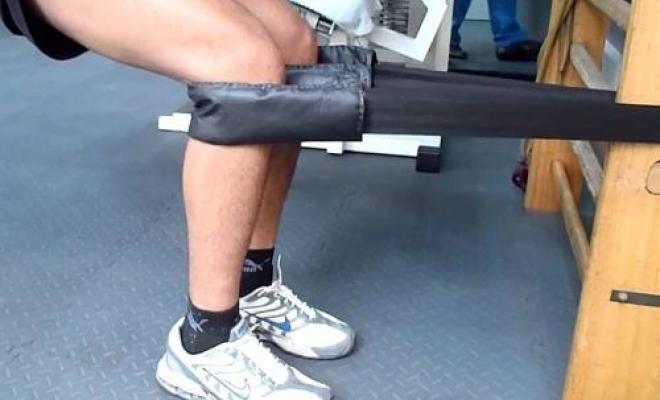 ejercicios excentricos con cinturon ruso