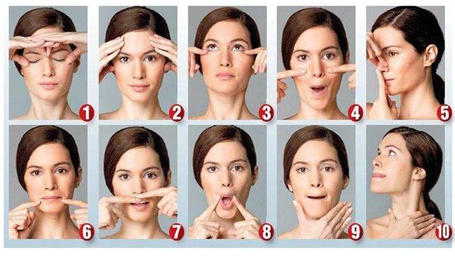 ejercicios gimnasia facial