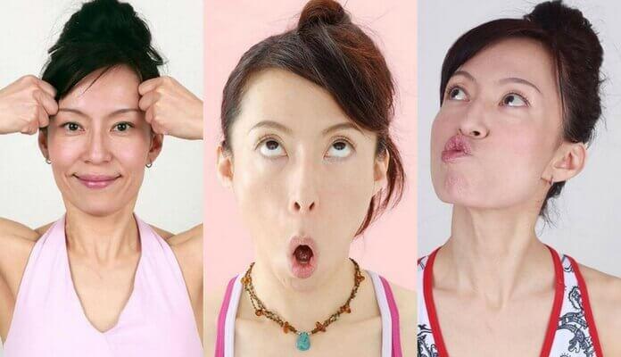 ejercicios tonificacion facial