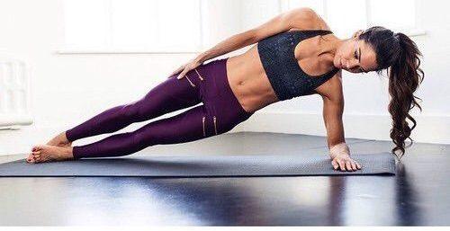 ejercicios fitness abdomen plano