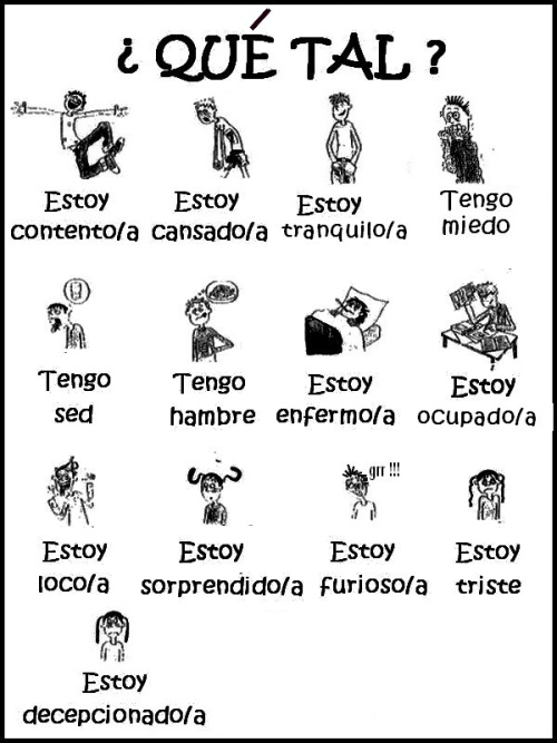 ejercicios de español para extranjeros