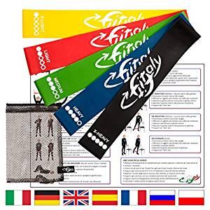 ejercicios isquiotibiales con bandas elasticas