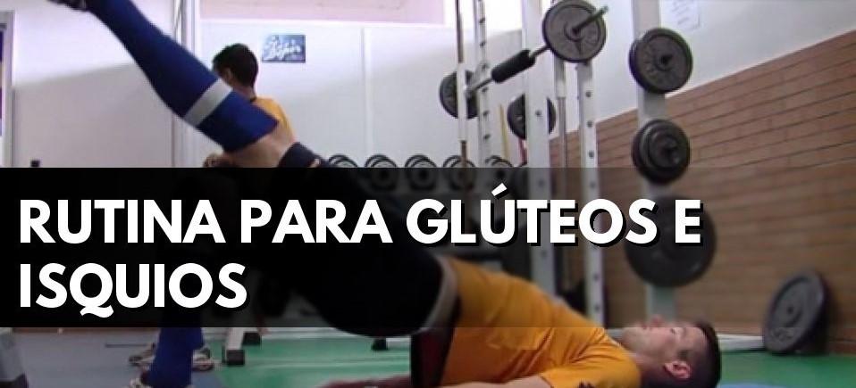 ejercicios isquiotibiales y gluteos