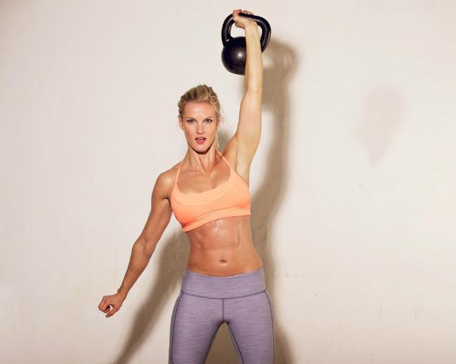 ejercicios con el kettlebell