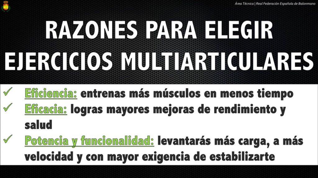 ejercicios multiarticulares ejemplos