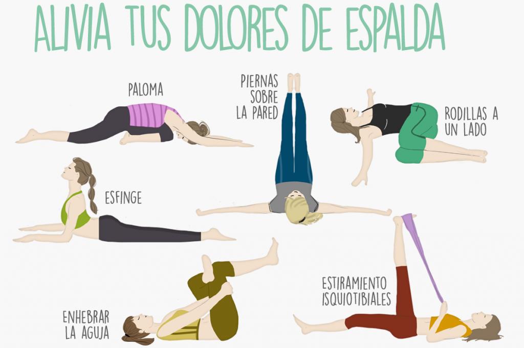 ejercicios para el dolor de espalda fisioterapia