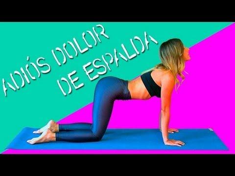 ejercicios para eliminar el dolor de espalda baja