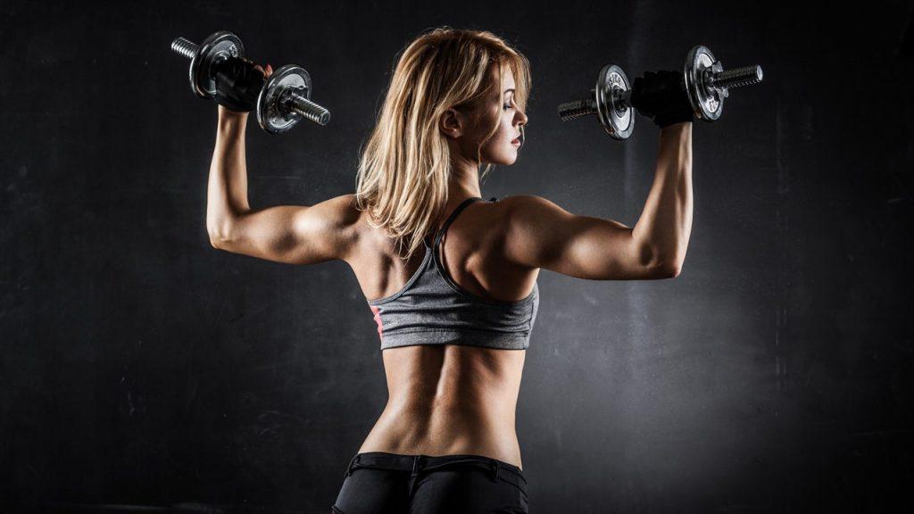 ejercicios para ganar masa muscular brazos
