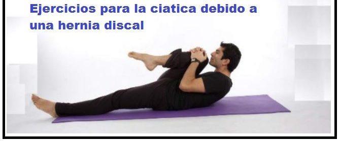 ejercicios para hernia discal dorsal