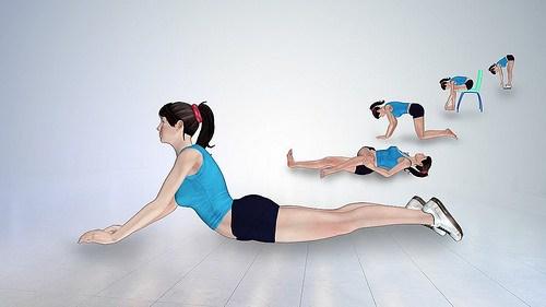 ejercicios activos para lumbalgia