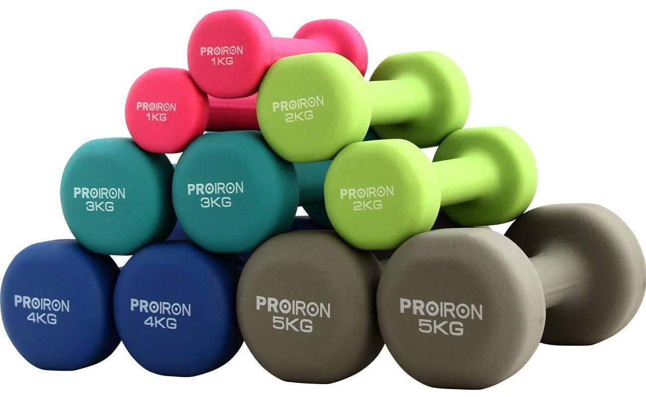 ejercicios para perder peso con mancuernas
