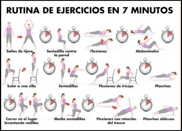 ejercicios para perder peso rapidamente