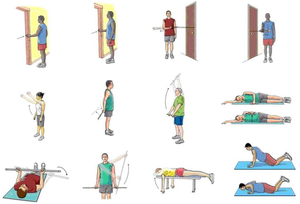 ejercicios de rehabilitacion de tendinitis de hombro