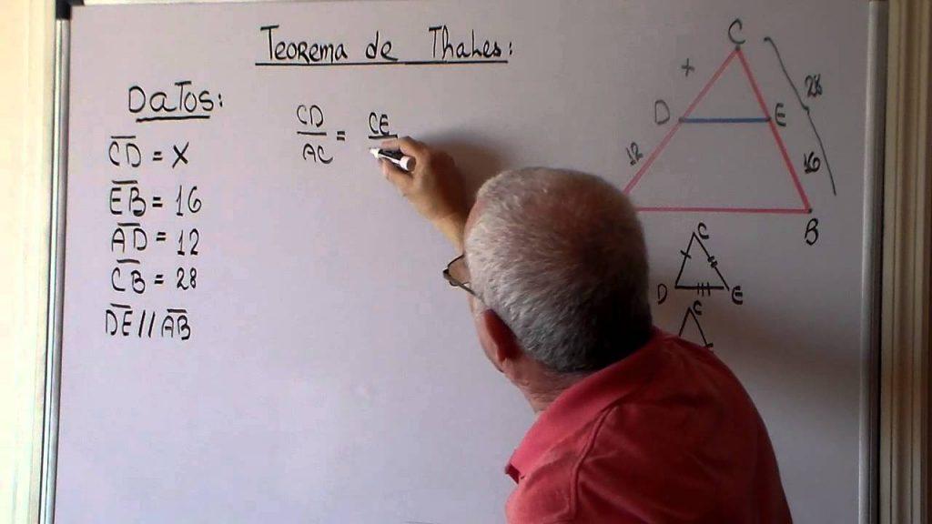 ejercicios de teorema de thales