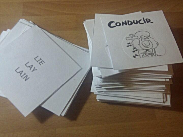 ejercicios aprender verbos irregulares