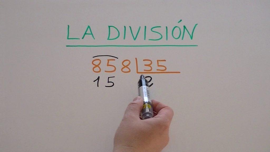 imagenes de ejercicios de divisiones de dos cifras