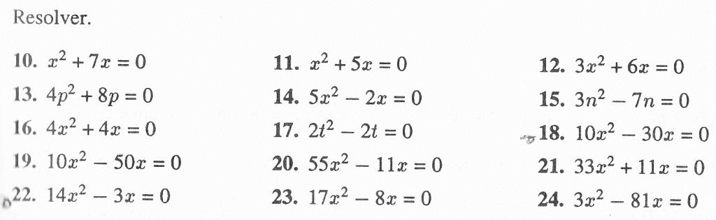 ejercicios de funciones cuadraticas para resolver