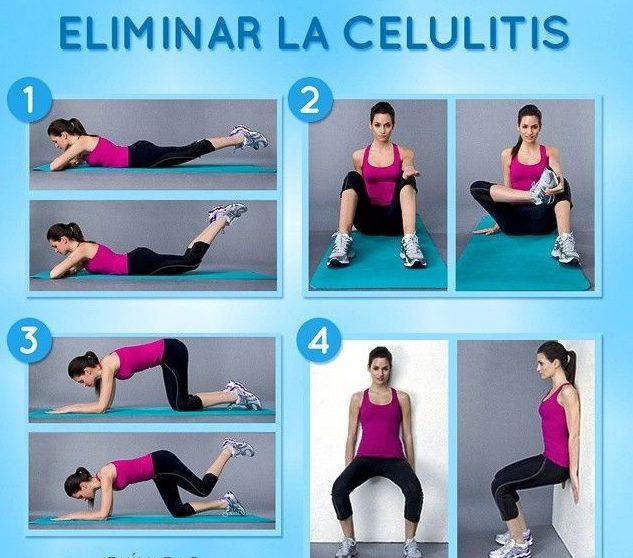 ejercicios contra la celulitis de gluteos y piernas
