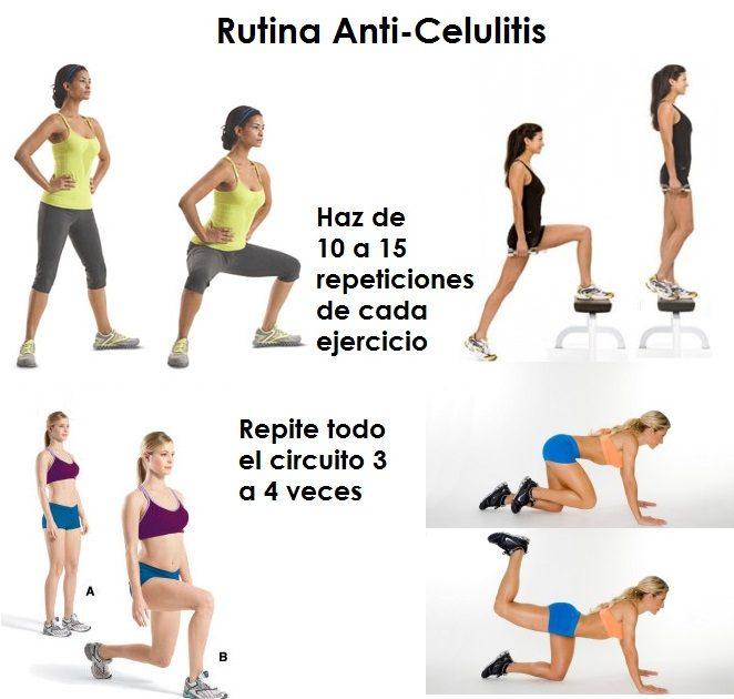 ejercicios contra la celulitis en casa